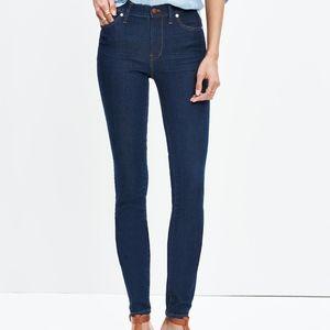 "Madewell Skinny Skinny 9"" High Riser Jeans"